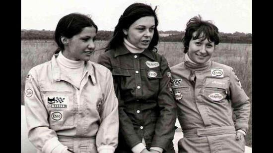 Michéle Mouton, Christine Dacremont e Marianne Hoepfner