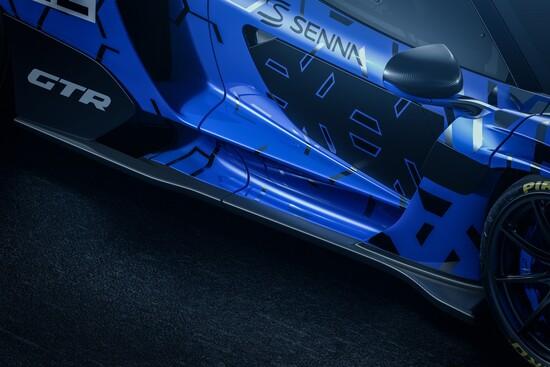Tantissima fibra di carbonio per la McLaren Senna GTR