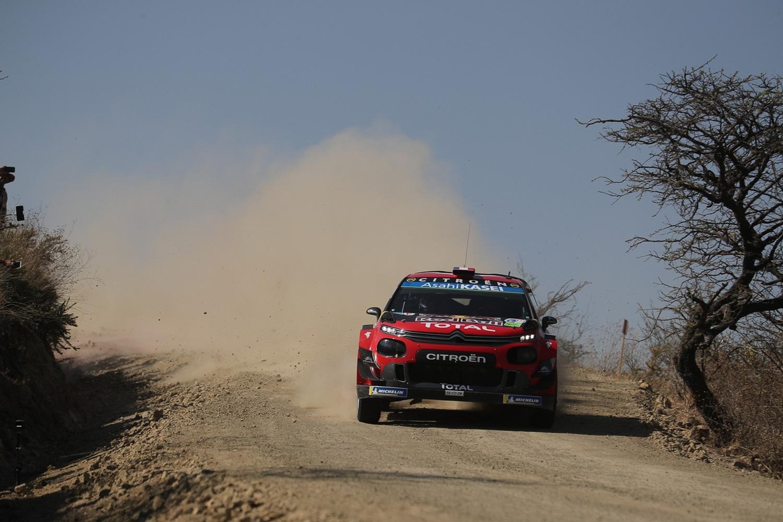 WRC19. Mexico. L'Ogier (di Citroen) che ci si aspetta