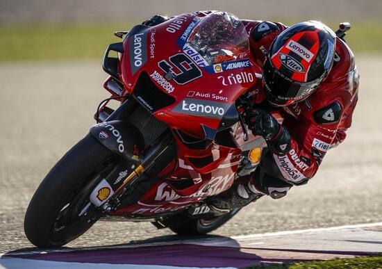 MotoGP 2019. Petrucci segna il miglior tempo nel warm up
