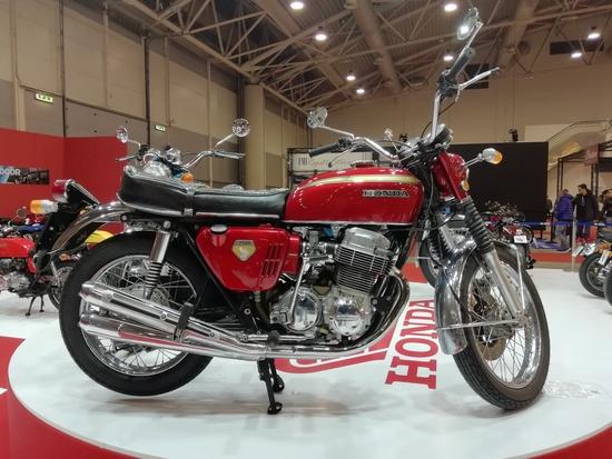 la mitica Honda CB 750 K0