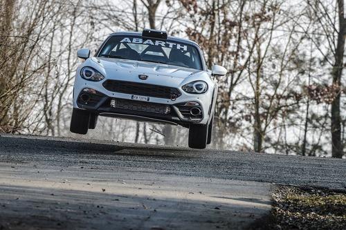Abarth 124 rally 2019, lo Scorpione da corsa si rinnova