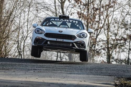 Abarth 124 rally 2019, lo Scorpione da corsa si rinnova (5)
