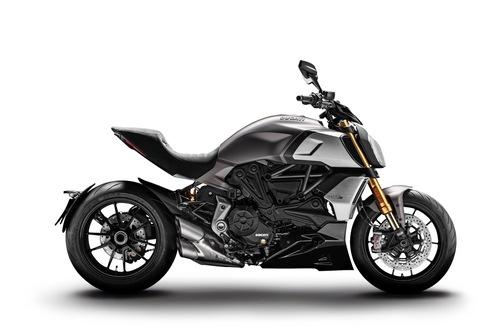Ducati Diavel 1260S Sandstone Grey