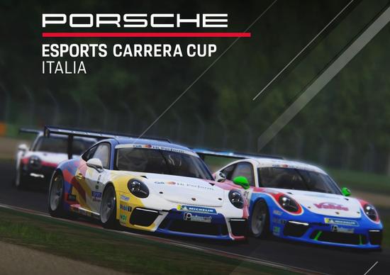 Porsche Esports Carrera Cup Italia: tutte le informazioni