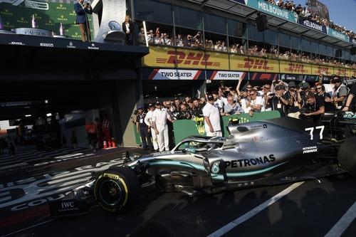 F1, GP Australia 2019, Bottas: «La gara migliore della mia carriera» (7)