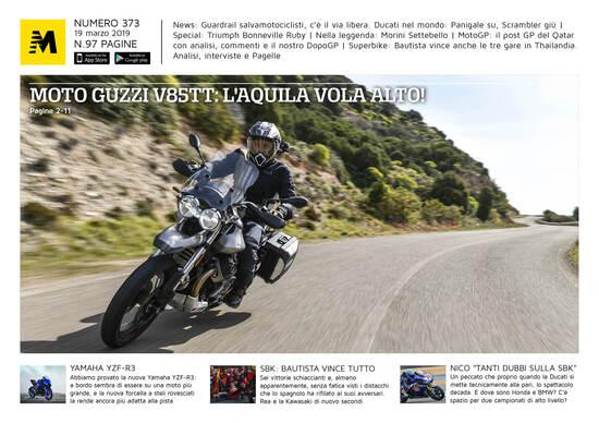 Magazine n° 373, scarica e leggi il meglio di Moto.it
