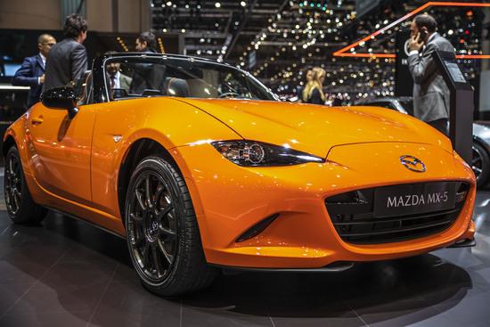 Mazda MX-5 30th Anniversary Edition a Ginevra