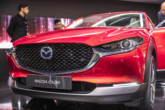 Mazda CX-30 in mostra a Ginevra 2019