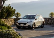 Ford Focus Active 2019, gamma completa e... più alta