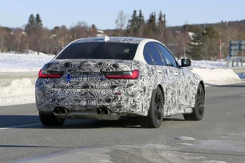 BMW M3 2020: avvistata ancora (Foto spia) (3)
