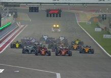 F1, GP Bahrain 2019: la partenza della gara [Video]