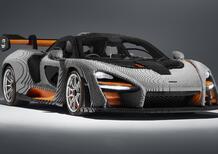 McLaren Senna, ecco quella di Lego a grandezza naturale