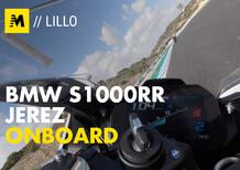 Onboard: BMW S1000RR 2019 a Jerez de la Frontera