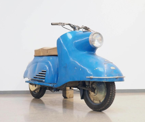 Da Vienna un'asta curiosa di scooter e moto d'epoca (6)