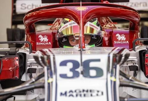 Mick Schumacher, test con Alfa Romeo dopo la Ferrari (2)