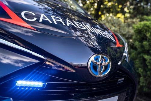 Carabinieri: 250 Toyota Yaris Hybrid per l'Arma (5)