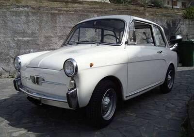 Bianchina berlina modello Fantozzi d'epoca del 1967 a Gravina di Catania