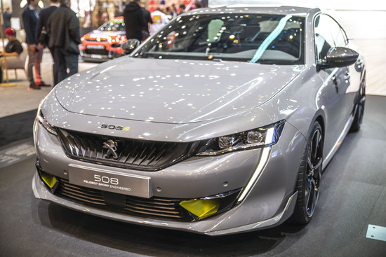 La Peugeot 508 Sport Engineered a Ginevra