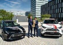 Giro d'Italia 2019: Toyota auto ufficiale