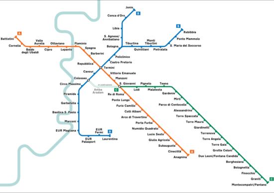 Metropolitana di Roma, Stazioni ancora chiuse