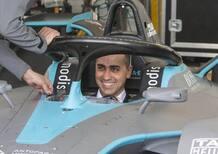 Di Maio e Raggi alla Formula E, ePrix di Roma 2019: E' il futuro