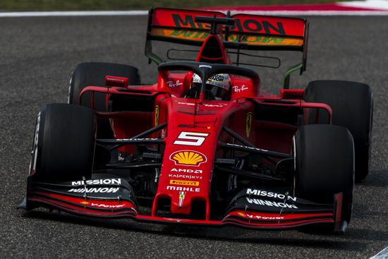 Terza posizione per Vettel in Cina