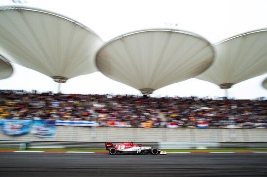 A punti in Cina anche Kimi Raikkonen