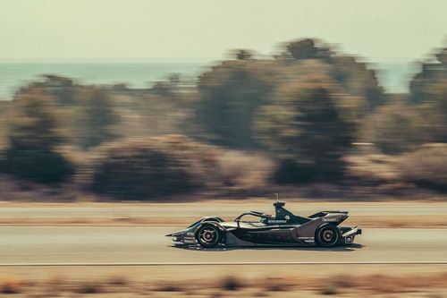 Formula E: Porsche, test in Spagna per il 2019/2020 (3)