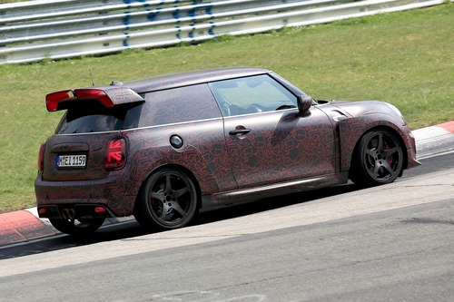 Mini John Cooper Works GP, le foto spia al Ring (3)