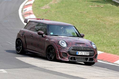 Mini John Cooper Works GP, le foto spia al Ring (5)