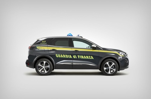 La Guardia di Finanza arruola due SUV 3008 Peugeot