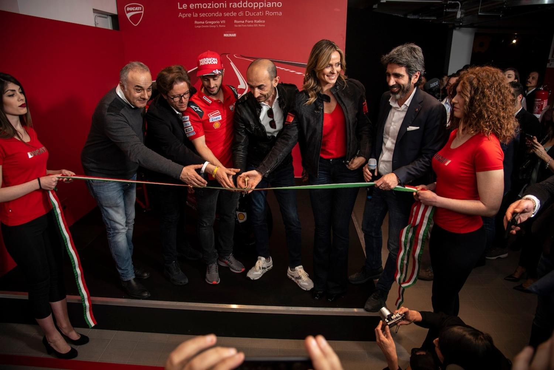 Ducati Roma: festa grande per la doppia location