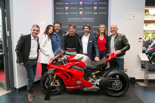 Ducati Roma: festa grande per la doppia location (8)