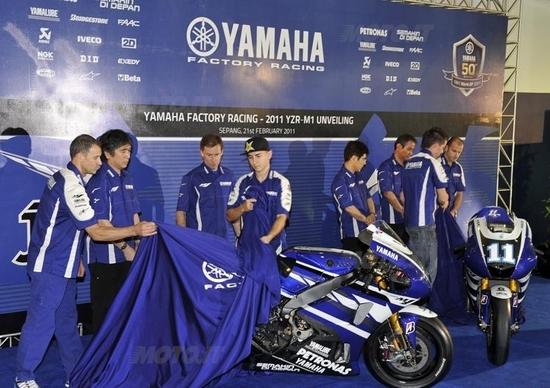 MotoGP. La nuova livrea della Yamaha YZR-M1