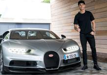 Cristiano Ronaldo si regala la Bugatti Voiture Noire