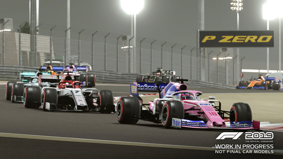 L'upgrade grafico di F1 2019 è notevole e regala momenti che vale la pena rivedere nei nuovi highlights generati automaticamente