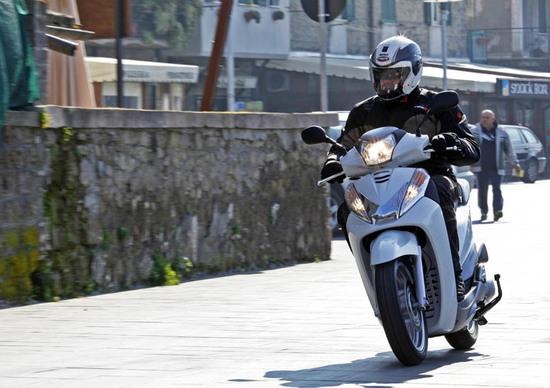 Prova Honda Sh300i Prove Motoit