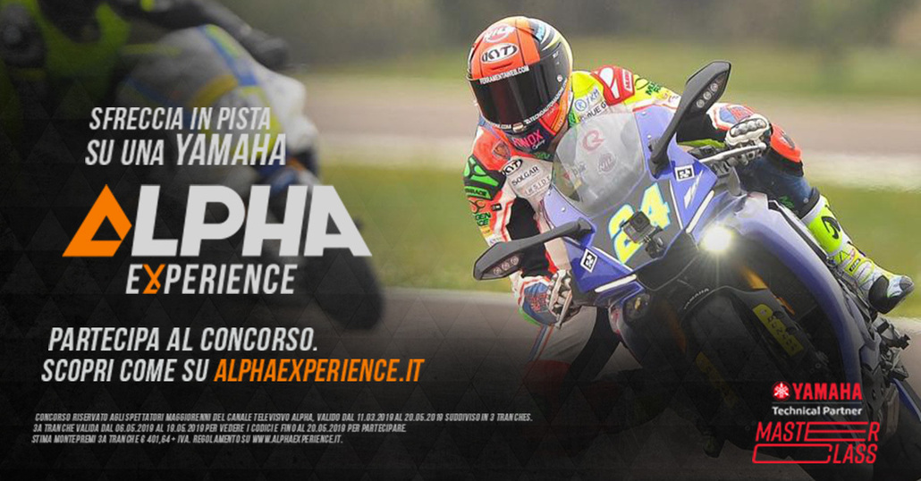 Alpha Experience: vinci Yamaha Masterclass con DeAgostini