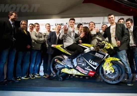 Andrea Iannone presenta il suo nuovo team