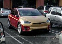 Tesla Model X, spunta un esemplare ispirato ad Iron Man