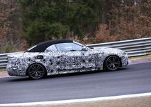 BMW Serie 4 Cabrio: avvistata la 2^ generazione [Video spia]