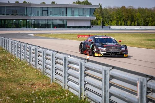 Dovizioso nel DTM con l'Audi RS5! (3)