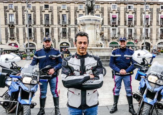 Polizia in azione a Catania