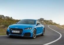 Audi TT RS restyling, i prezzi: si parte da 78.300 euro