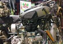 Alpini a Milano: moto militari in mostra per il 92° raduno