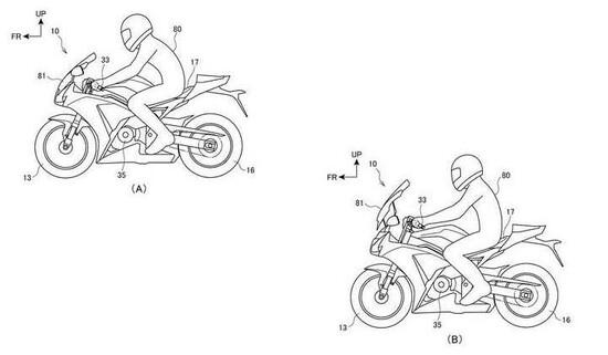 Honda: un brevetto per la posizione di guida variabile