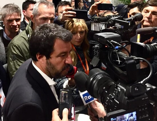 Salvini all'Automotive Dealer Day 2019