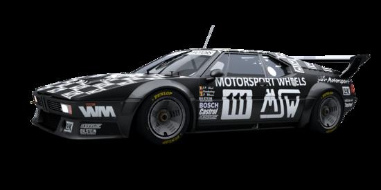 Ecco la BMW M1 Gruppo 4 che se la vedrà con la Porsche 934 RSR