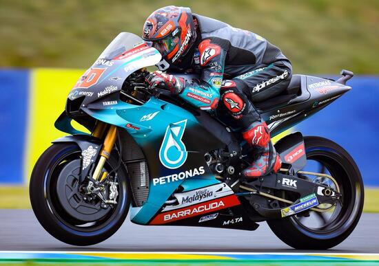 MotoGP 2019. A Quartararo il warm-up